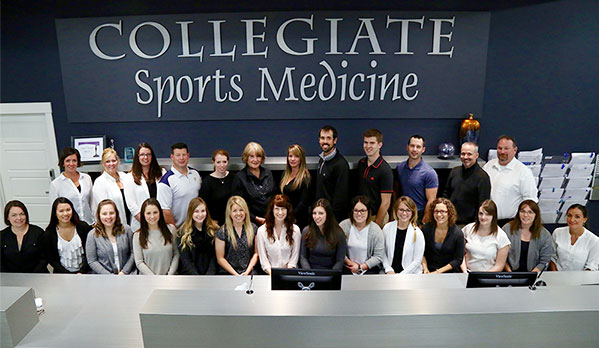 The team at Collegiate Sports Medicine