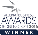 Winner - Alberta Business Awards Of Distinction 2016
