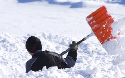 The Snow is here! – Tips for shoveling your snow safely?
