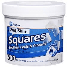 Second Skin Gel Squares