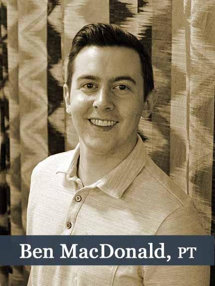 Ben MacDonald, PT