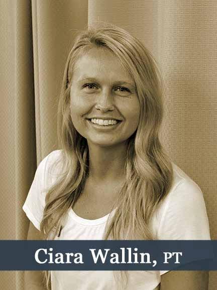 Ciara Wallin, PT