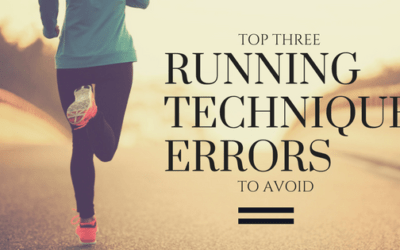 Top 3 Running Technique Errors to Avoid