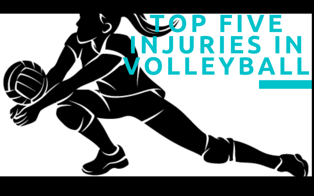Top Five Injuries in Volleyball