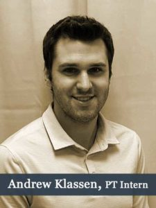 Andrew Klassen Physiotherapist