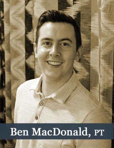 Ben MacDonald PT Bio