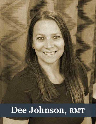 dee johnson massage therapist