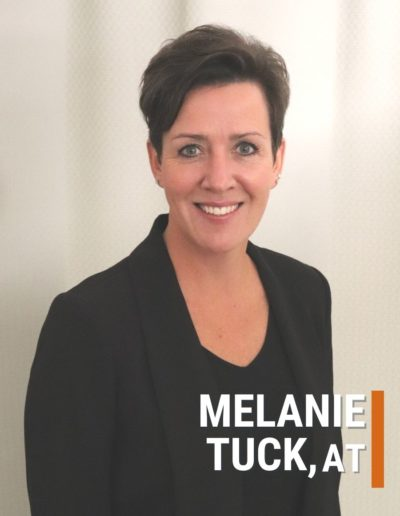 Melanie Tuck Athletic Therapist Collegiate Sports Medicine